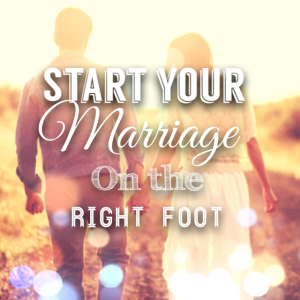 Start your marriage off right