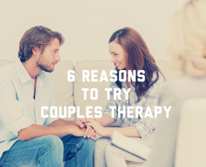 Why you should try Couples Therapy